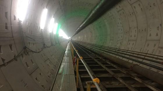 Hoàn thành các đoạn ngầm tuyến metro số 1 vào năm 2018 ảnh 1