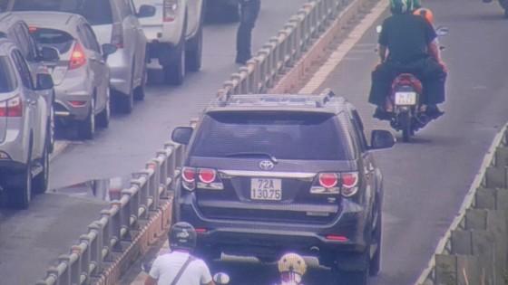 Xử lý nghiêm xe ô tô lưu thông vào làn xe gắn máy trên cao tốc TPHCM - Long Thành ảnh 3