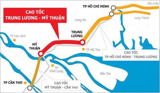 Dự án cao tốc Trung Lương- Mỹ Thuận: Không được thanh toán tiền nhà thầu dừng thi công ảnh 1