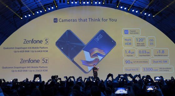 ASUS giới thiệu ZenFone 5 Series ảnh 1