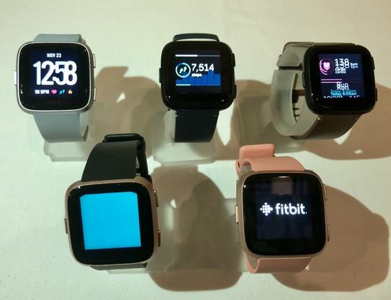 Fitbit Versa, đồng hồ thông minh có mặt kim loại nhẹ nhất ảnh 2
