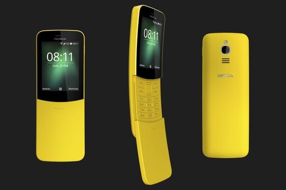 """Tậu ngay Nokia """"chuối"""" 8110 4G màu vàng   ảnh 4"""