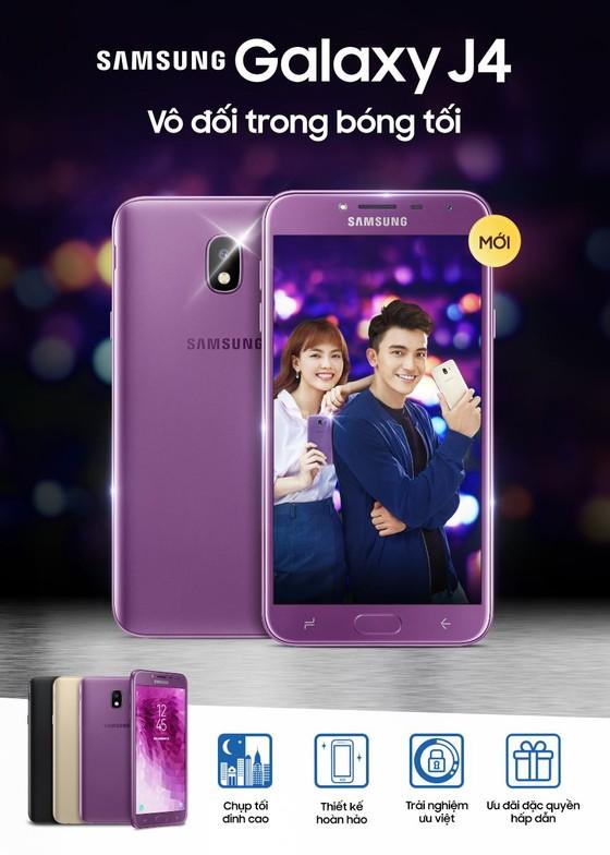 Samsung Galaxy J4 trẻ trung ở phân khúc tầm trung ảnh 1