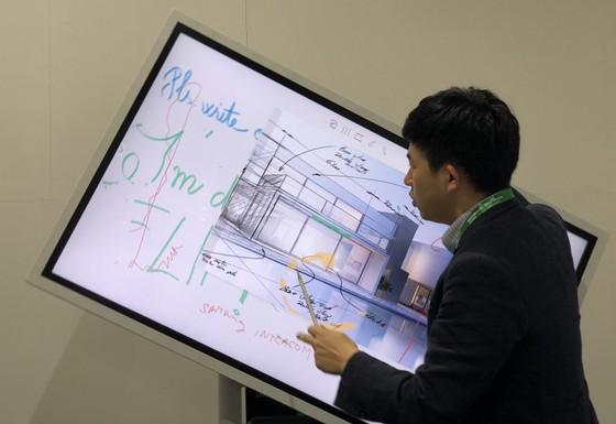 Samsung trình diễn các giải pháp màn hình trình chiếu và kiểm soát an ninh toàn diện cho doanh nghiệp ảnh 1