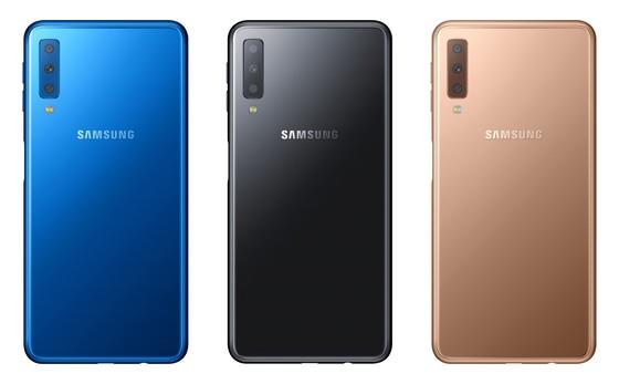 Galaxy A7 với 3 camera sau ảnh 1