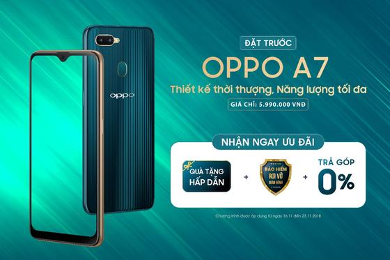 OPPO A7 đầy đủ những tính năng nổi bật  ảnh 7
