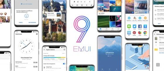 Huawei mắt hệ điều hành mới nhất EMUI 9.0 ảnh 1
