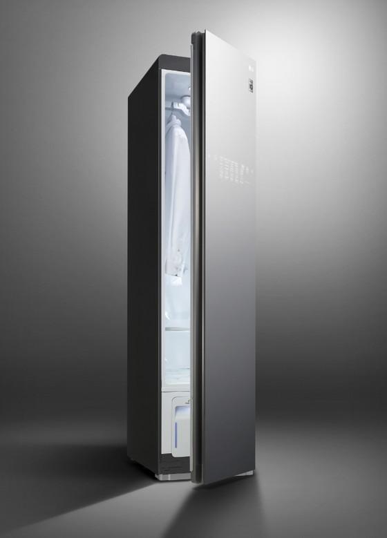 LG giới thiệu máy giặt sấy và tủ chăm sóc quần áo thông minh mới ảnh 2