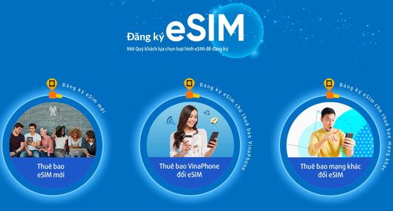 Dễ dàng dùng eSIM của VinaPhone  ảnh 1