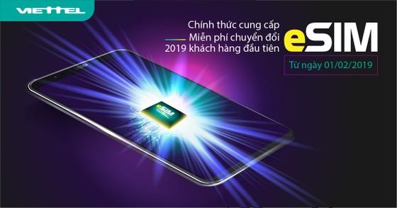Viettel và ViNaPhone đã chính thức cung cấp eSIM  ảnh 1