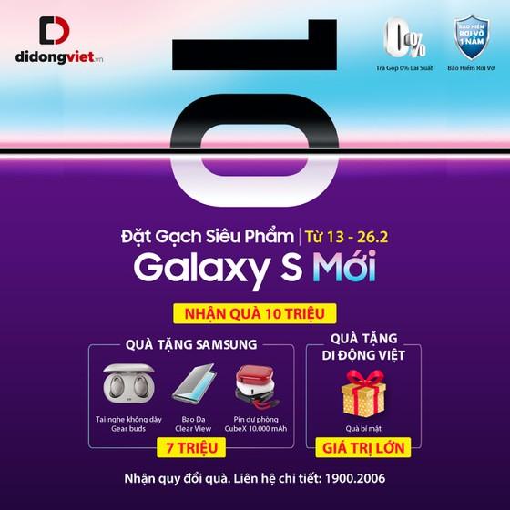 """5 lý do """"đặt gạch"""" Samsung Galaxy S mới  ảnh 2"""