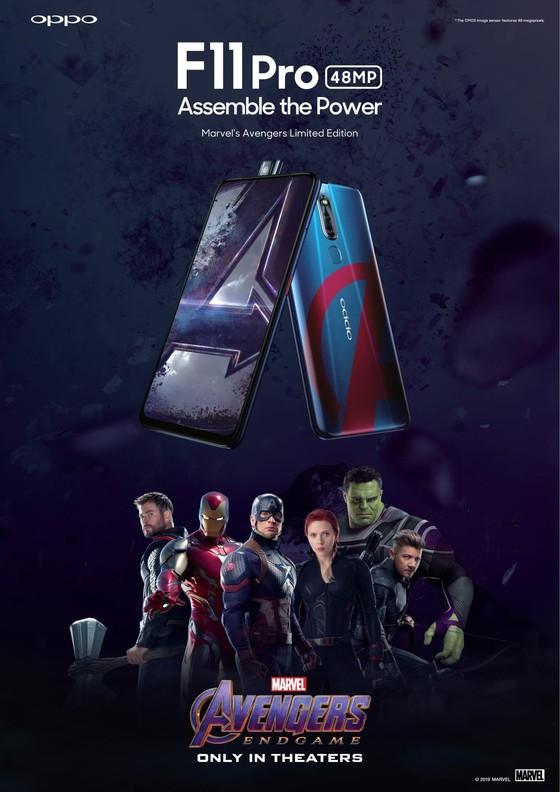 Ấn tượng với OPPO F11 Pro phiên bản giới hạn Marvel's Avengers ảnh 2
