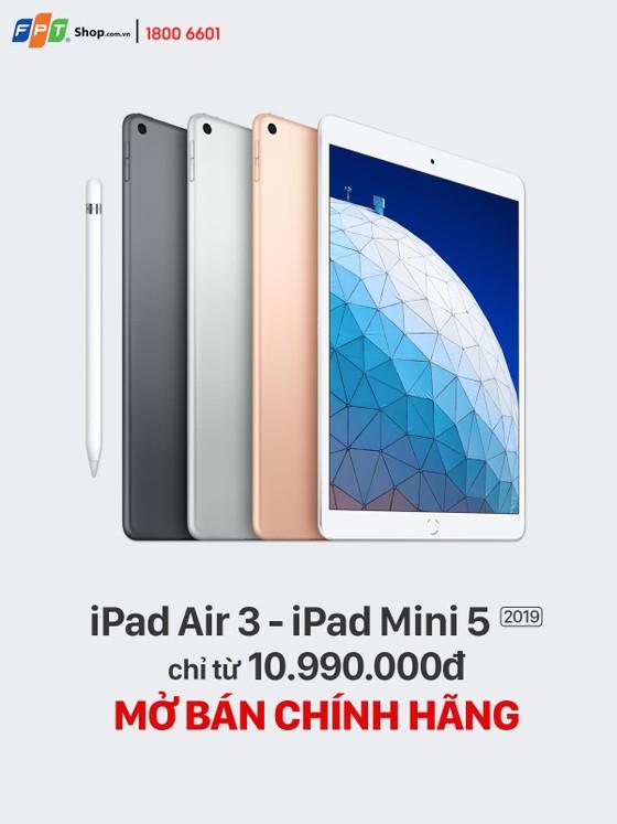Nhiều sản phẩm Apple mới đồng loạt lên kệ FPT Shop  ảnh 1