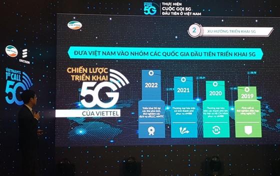 Viettel chính thức kết nối 5G ảnh 1