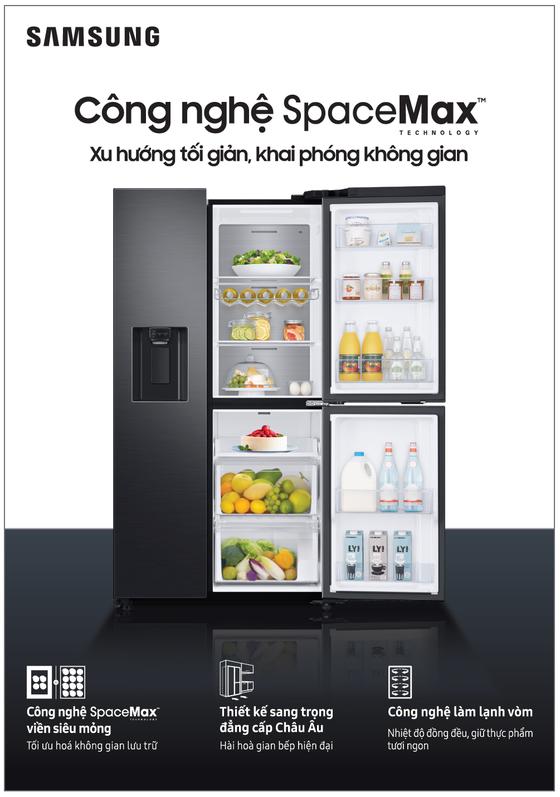 Sang trọng, tiện dụng và an toàn hơn với tủ lạnh RS5000  ảnh 2