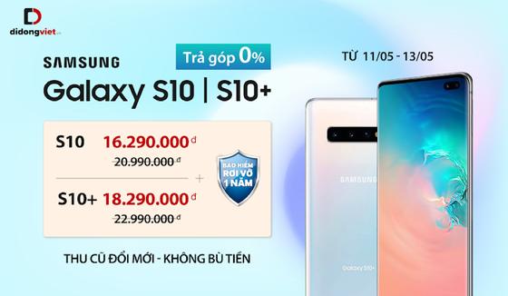 Samsung Galaxy S10/S10+ giảm 4,7 triệu đồng tại Di Động Việt ảnh 3