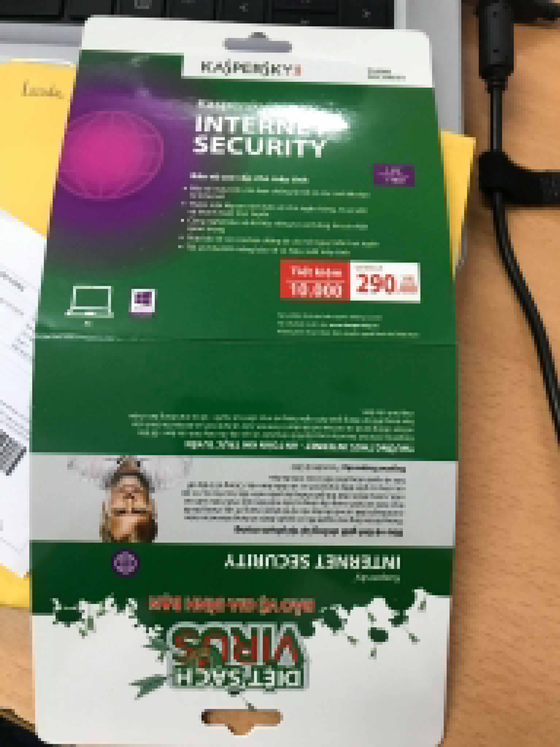 Đến phần mềm bảo mật cũng được bán gỉả ảnh 2