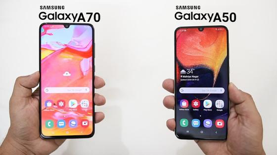 Galaxy A50, Galaxy A70 giảm đến 1,3 triệu đồng ảnh 1