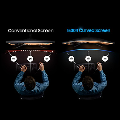 Samsung chính thức mở bán màn hình chơi game cong CRG5 đầu tiên trên thế giới tại Việt Nam ảnh 3