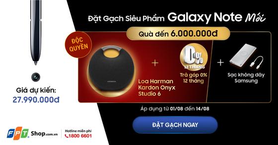 FPT Shop tặng loa Harman Kardon Onyx Studio 6 cho khách đặt trước Galaxy Note 10, Note 10+ ảnh 1