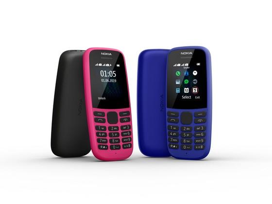 Nokia 105 mới sở hữu thiết kế đơn giản và độ bền bỉ với thân máy bằng polycarbonate ảnh 2