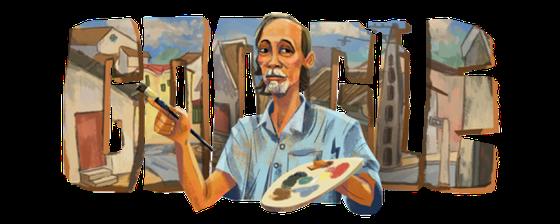 """Google Doodle vinh danh """"danh họa phố cổ"""" Bùi Xuân Phái ảnh 1"""