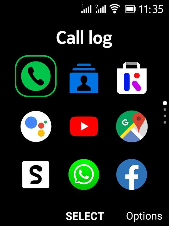 Nokia 2720 Flip điện thoại nắp gập với mạng 4G ảnh 1