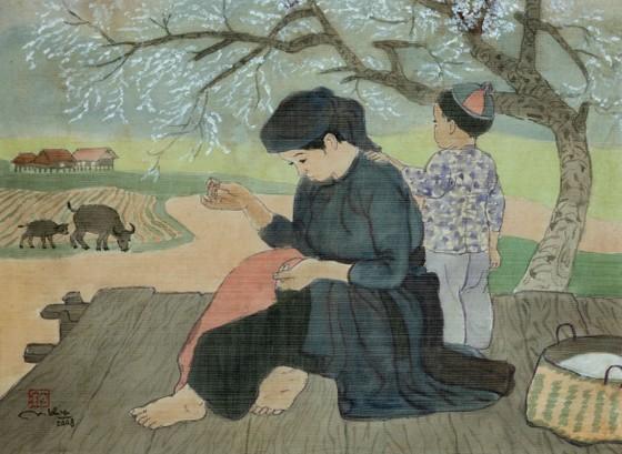 Triển lãm hơn 60 tác phẩm của họa sĩ Nguyễn Thụ ảnh 1