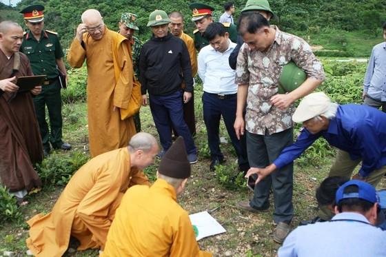 Khảo sát xây dựng cột mốc tâm linh trên đảo Trần ảnh 1