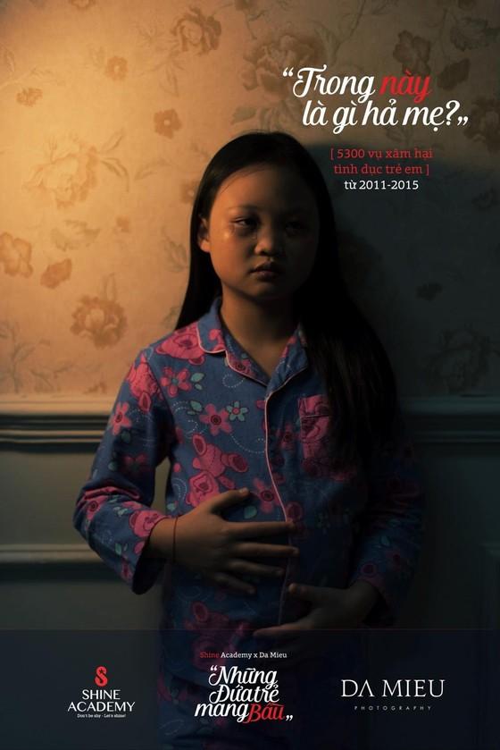 Những đứa trẻ mang bầu - Bộ ảnh gây rúng động về xâm hại trẻ em ảnh 6