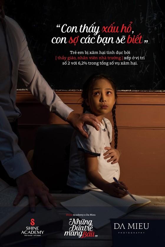 Những đứa trẻ mang bầu - Bộ ảnh gây rúng động về xâm hại trẻ em ảnh 4