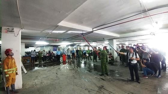 Khu căn hộ cao cấp Giai Việt (quận 8) vi phạm hàng loạt quy định về PCCC ảnh 3