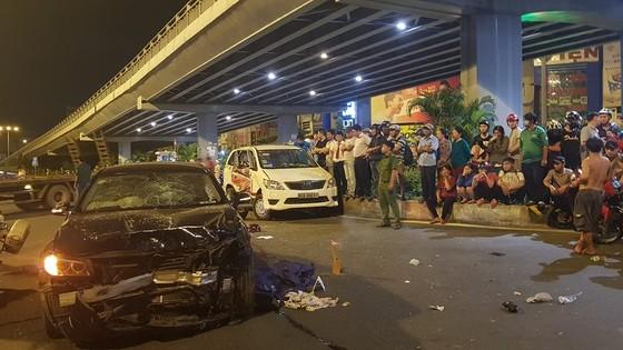 Nữ tài xế lái ô tô BMW gây tai nạn có nồng độ cồn cao gần gấp 4 lần quy định ảnh 1