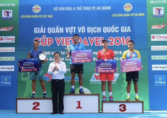 Lý Hoàng Nam không dự giải quần vợt Vô địch quốc gia 2017