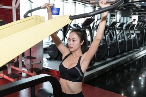 Diễn viên Vũ Ngọc Anh là người rất đam mê thể thao.