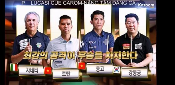 Trần Quyết Chiến, Ngô Đình Nại dìu nhau vào vòng chung kết giải Billirad Hàn Quốc ảnh 1