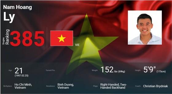 Lý Hoàng Nam gặp may trong ngày lập kỷ lục vào tốp 400 quần vợt thế giới ảnh 1