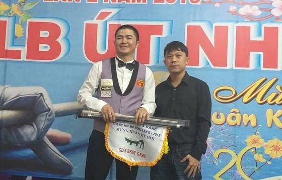 Nguyễn Quốc Nguyện với chức vô địch lần 2.