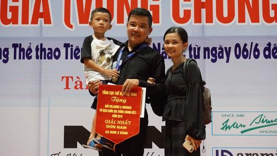 Nguyễn Đức Anh Chiến lần đầu tiên đăng quang giải Billiards Carom 3 băng vô địch quốc gia ảnh 1
