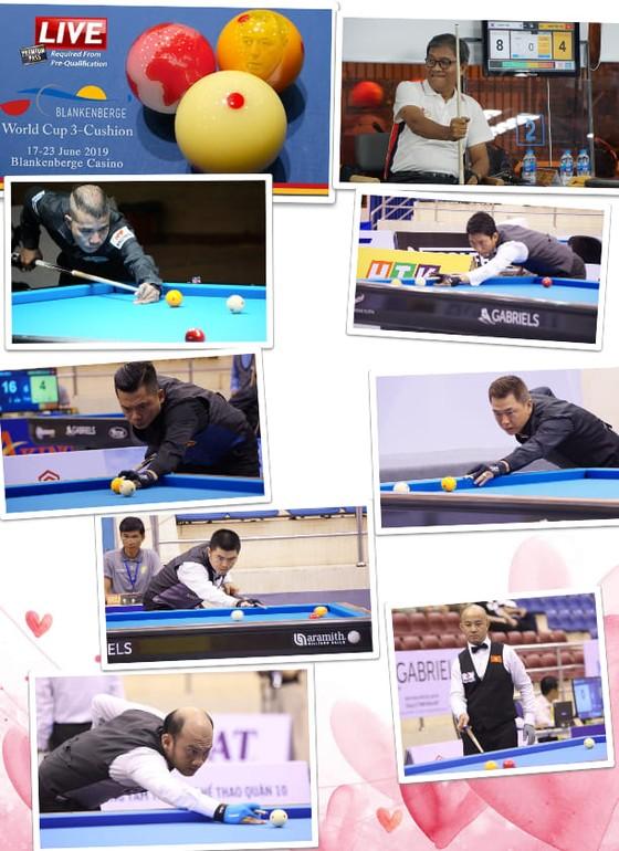 Mã Xuân Cường, Đỗ Nguyễn Trung Hậu giành chiến thắng ngoạn mục ở giải Billiards 3 băng thế giới ảnh 1