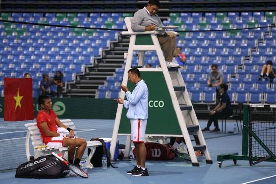 Đội tuyển quần vợt Việt Nam chạm một tay đến chiếc vé thăng hạng giải quần vợt Davis Cup ảnh 1