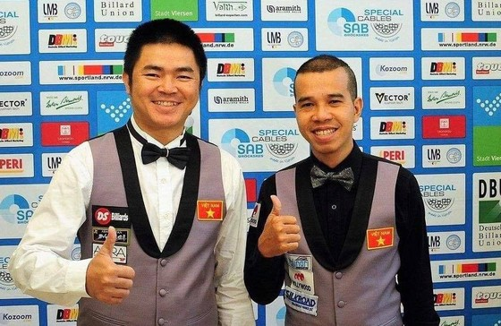 Dàn sao Billiard Carom 3 băng Việt Nam tranh tài ở đấu trường World Cup ảnh 1