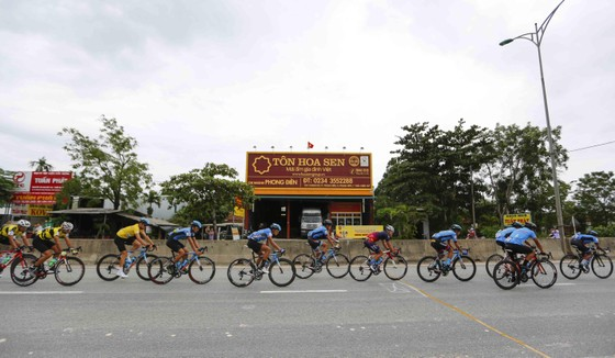 Giải xe đạp quốc tế VTV Cúp: Tay đua Hàn Quốc IM Jaeyeon đòi lại cả áo vàng lẫn áo xanh ảnh 1