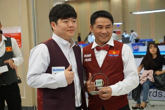 Trần Quyết Chiến trở thành cựu vô địch giải Billiards LG Hàn Quốc ảnh 1