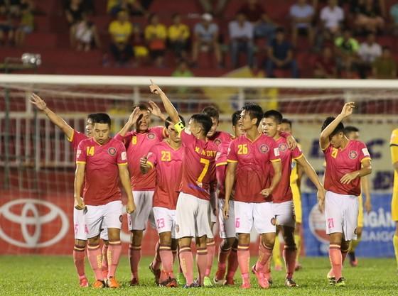 CLB Sài Gòn đã có chiến thắng ấn tượng trước Thanh Hóa. Ảnh: DŨNG PHƯƠNG