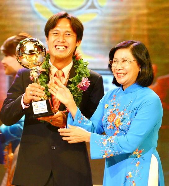 Những con số đáng nhớ của Quả bóng Vàng Việt Nam ảnh 2