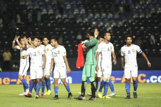 Nỗi thất vọng của cầu thủ Malaysia sau trận thua 1-4 trước CHDCND Triều Tiên