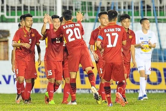 Đội U19 Việt Nam sớm giành ngôi vô địch. Ảnh: DŨNG PHƯƠNG