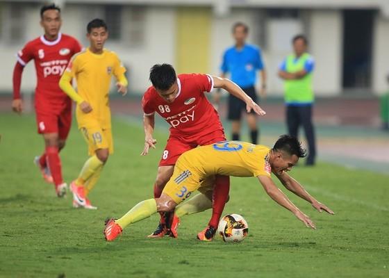 Viettel đã lấy vị trí đầu bảng sau vòng 5. Ảnh: MINH HOÀNG