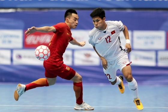 Đội Việt Nam giành chiến thắng cách biệt trước đội chủ nhà Trung Quốc. Ảnh: Độc Lập